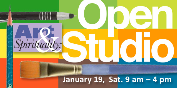 Art & Spirituality: Open Studio on Saturday, January 19